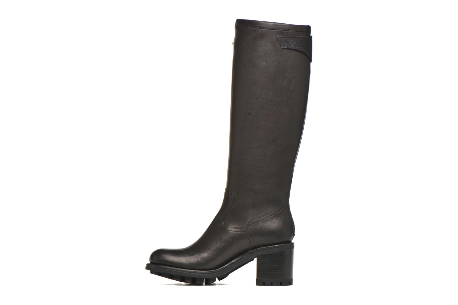Boots & wellies Free Lance Justy 7 cavalière Black front view