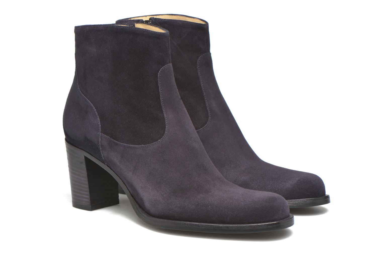 Ankle boots Free Lance Legend 7 Zip Boot Blue 3/4 view