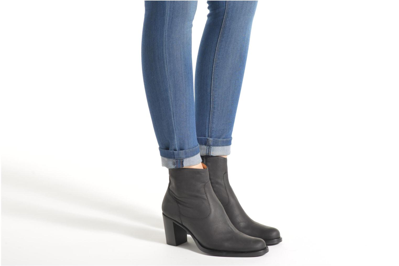Ankle boots Free Lance Legend 7 Zip Boot Blue view from underneath / model view