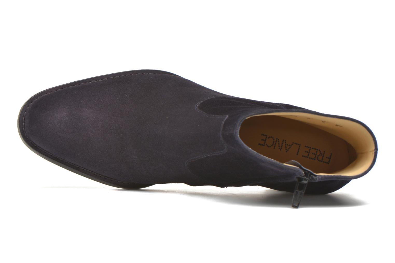 Bottines et boots Free Lance Legend 7 Zip Boot Bleu vue gauche