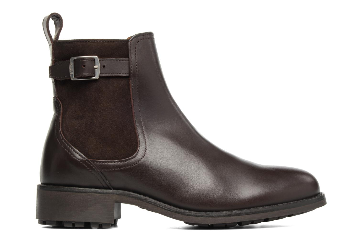 Ankle boots Aigle Chante Conti Brown back view