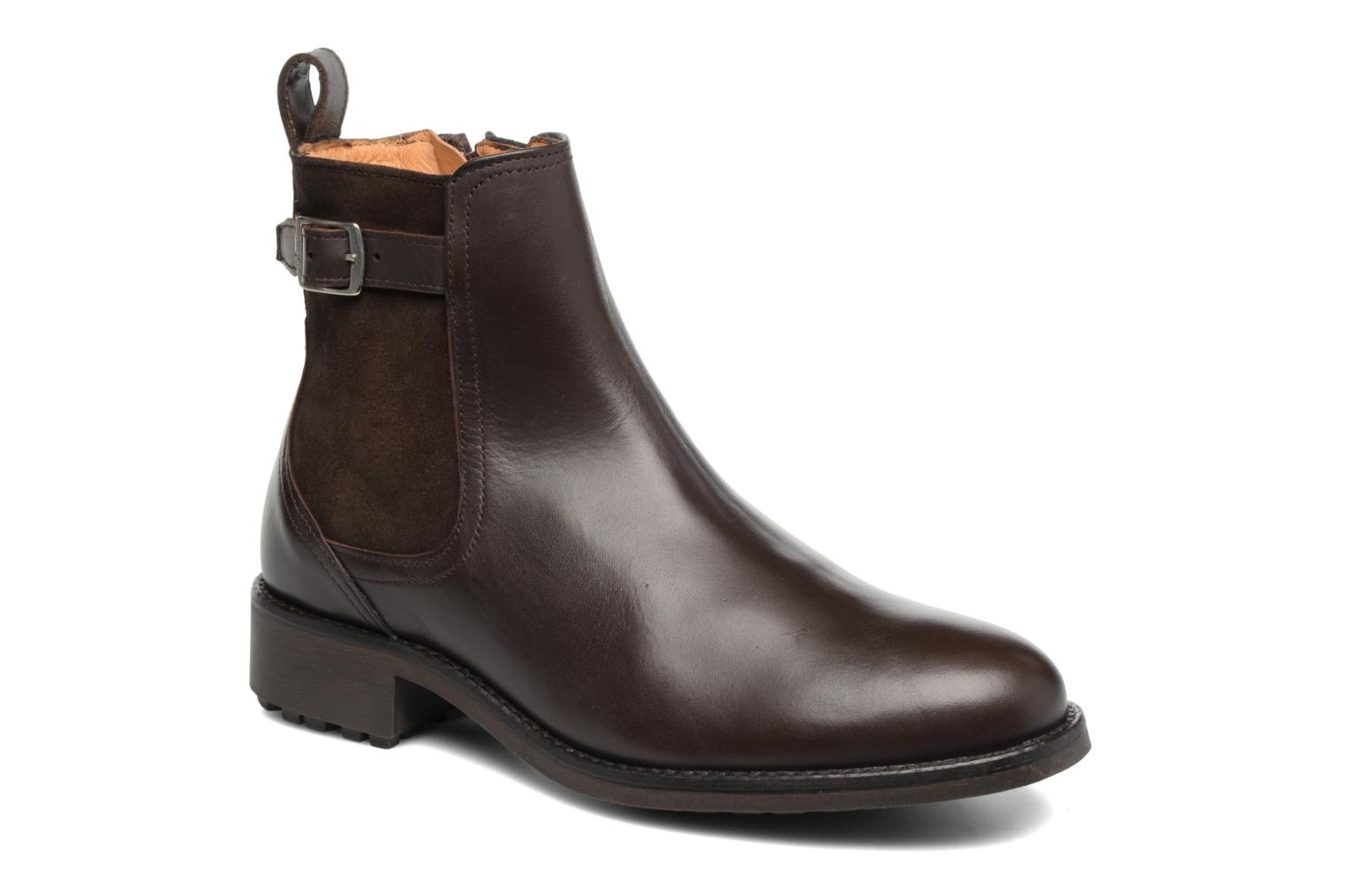 Ankle boots Aigle Chante Conti Brown detailed view/ Pair view