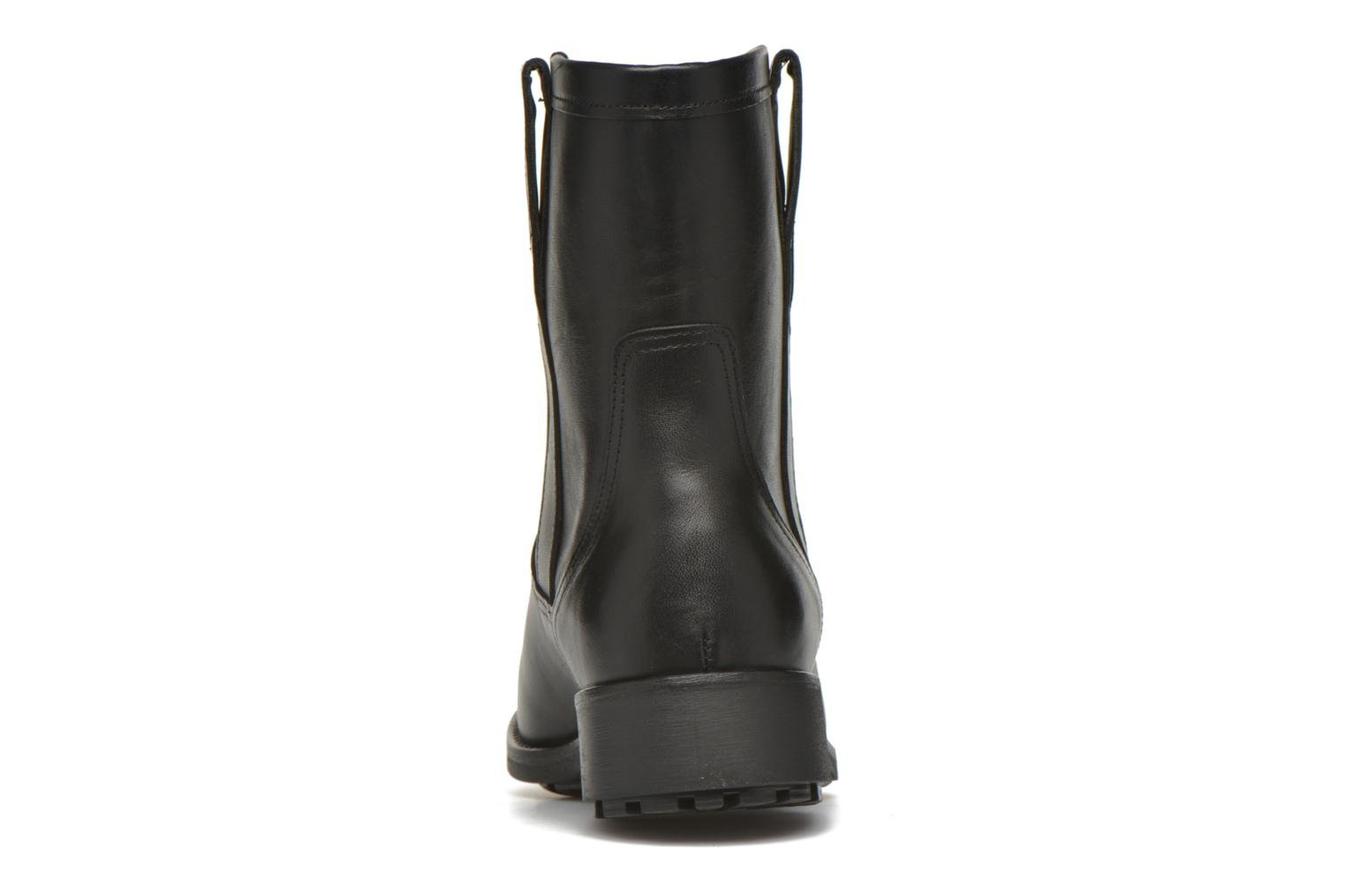 Ankle boots Aigle Chanteside Low Black view from the right