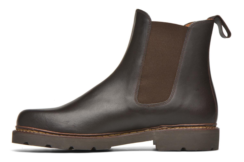Bottines et boots Aigle Quercy Marron vue face