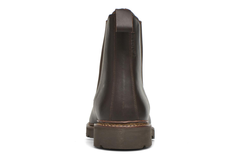 Bottines et boots Aigle Quercy Marron vue droite