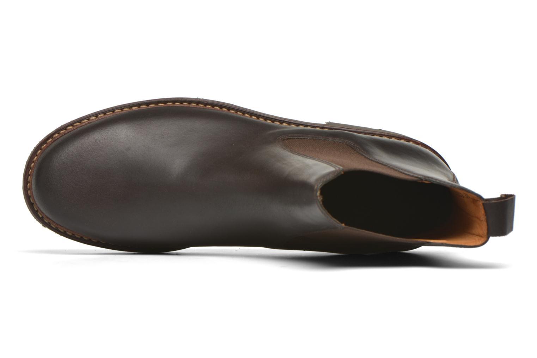 Bottines et boots Aigle Quercy Marron vue gauche