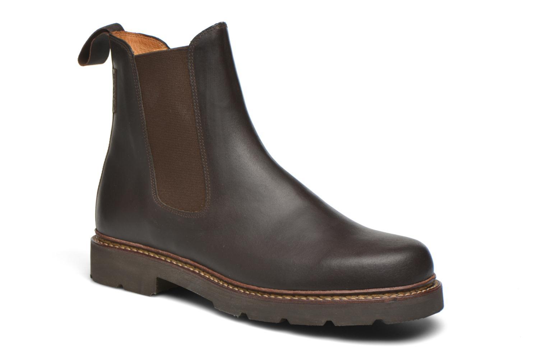 Bottines et boots Aigle Quercy Marron vue détail/paire