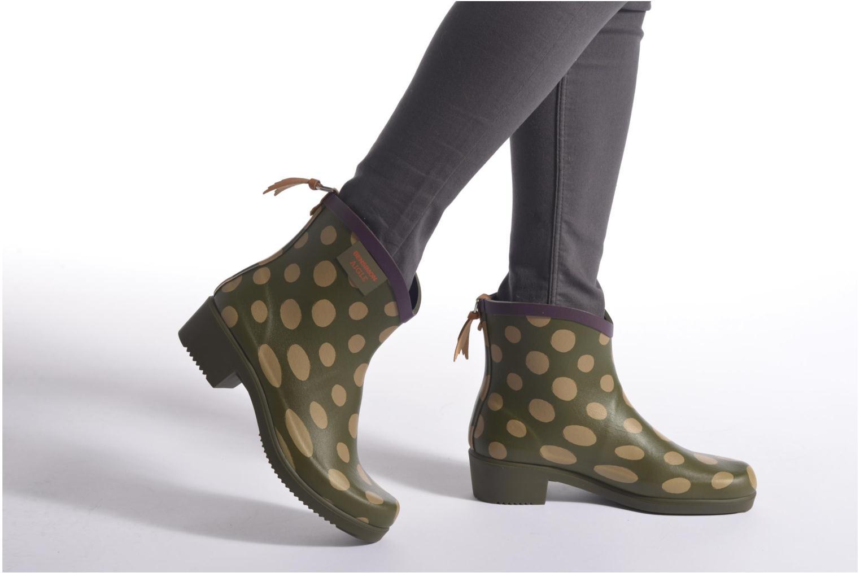 Bottines et boots Aigle Miss Juliette Bottillon BS Rouge vue bas / vue portée sac