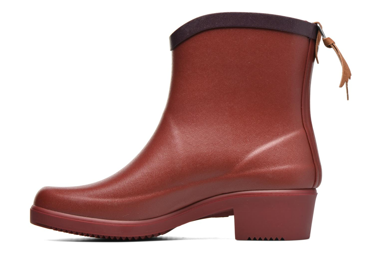Bottines et boots Aigle Miss Juliette Bottillon BS Rouge vue face