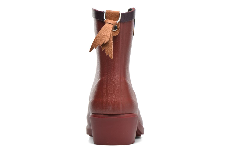 Bottines et boots Aigle Miss Juliette Bottillon BS Rouge vue droite