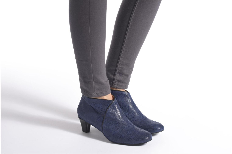 Bottines et boots Annabel Winship Sonicyouth Bleu vue bas / vue portée sac