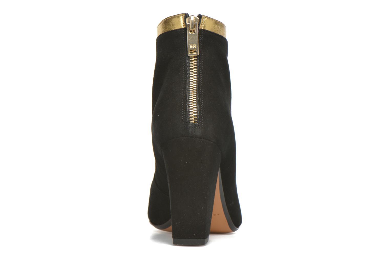 Bottines et boots Sonia Rykiel Amé Noir vue droite