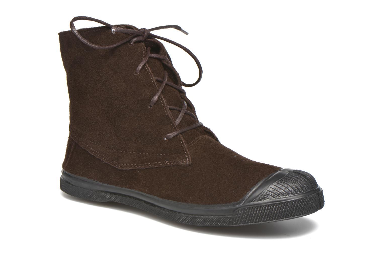 Baskets Bensimon Boots Dakota Marron vue détail/paire