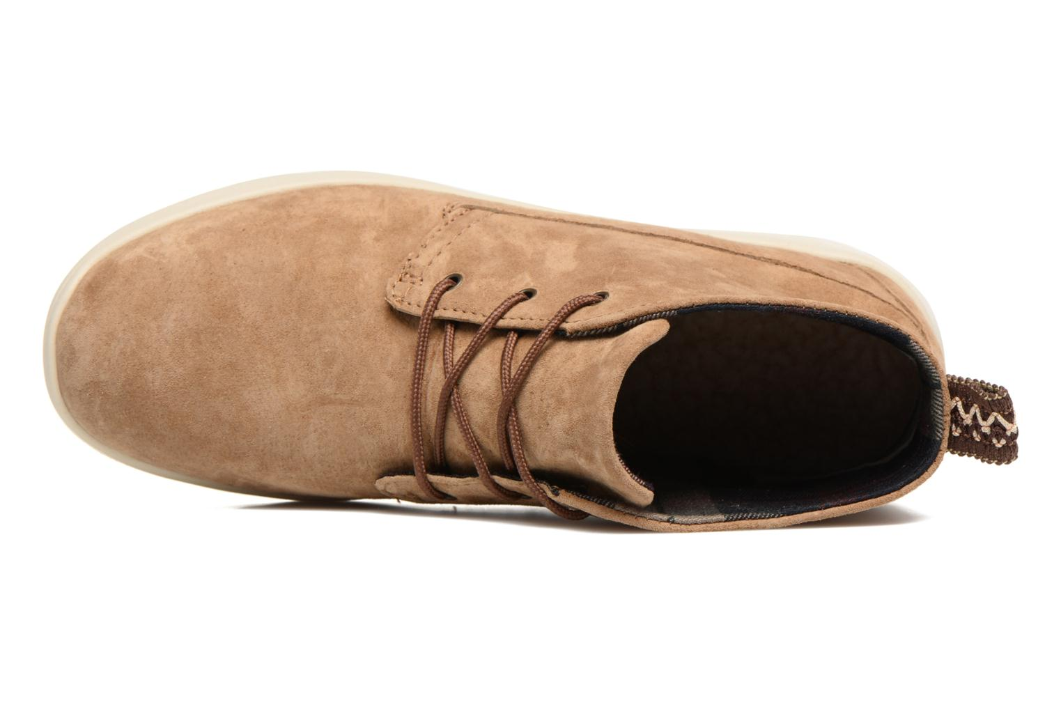 Canoe Suede Chestnut