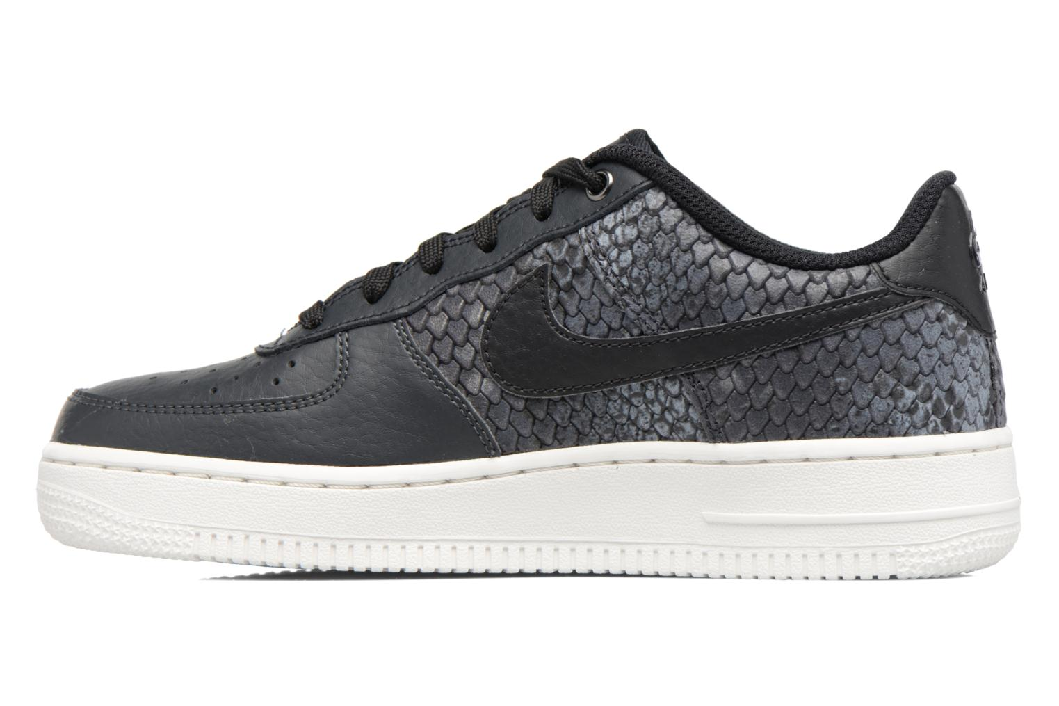 Baskets Nike Air Force 1 Lv8 (Gs) Gris vue face