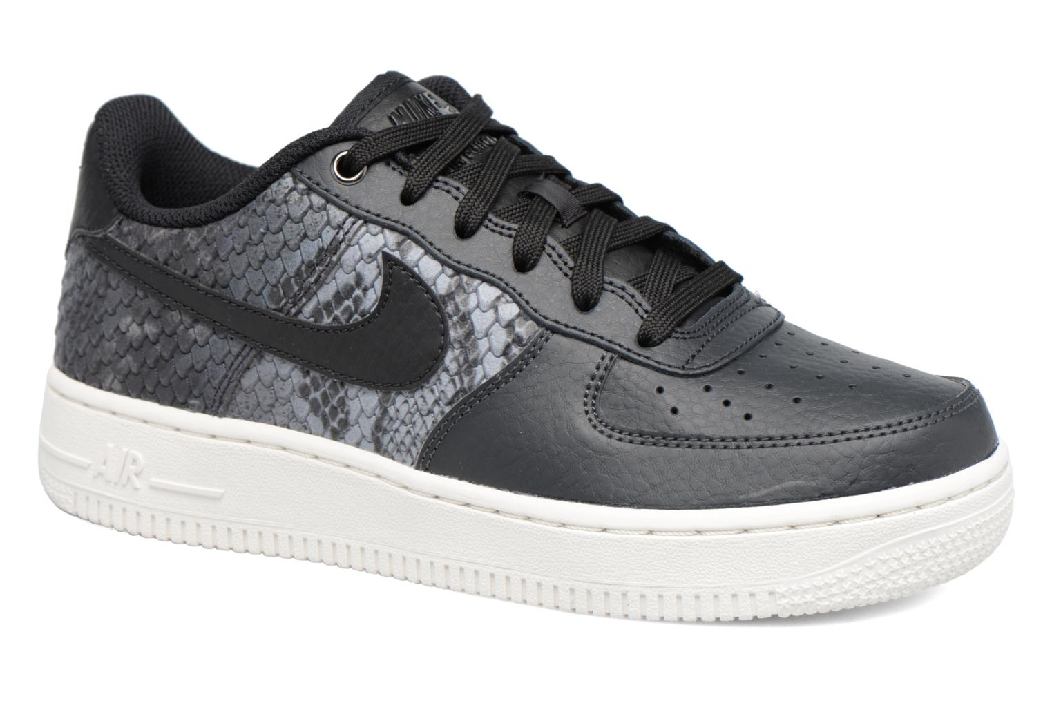 Baskets Nike Air Force 1 Lv8 (Gs) Gris vue détail/paire