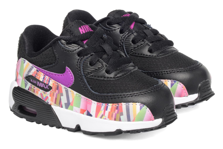Baskets Nike Nike Air Max 90 Print Mesh Td Noir vue 3/4