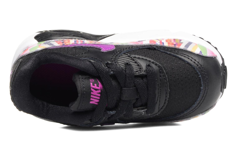 Baskets Nike Nike Air Max 90 Print Mesh Td Noir vue gauche