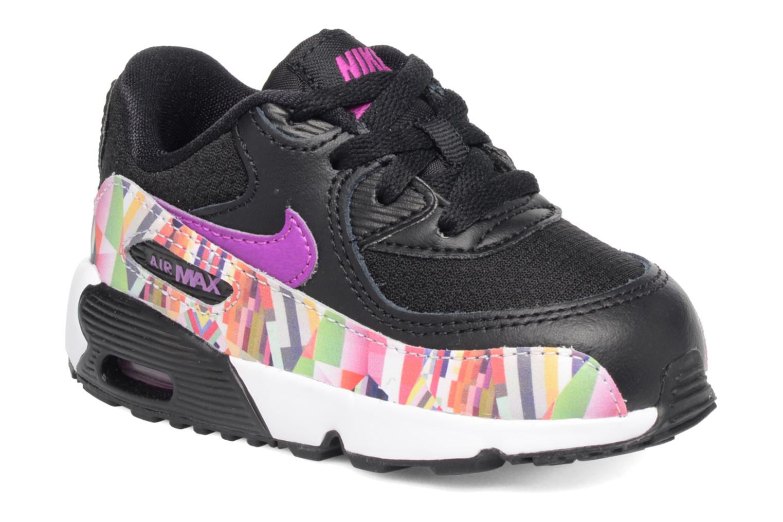 Baskets Nike Nike Air Max 90 Print Mesh Td Noir vue détail/paire