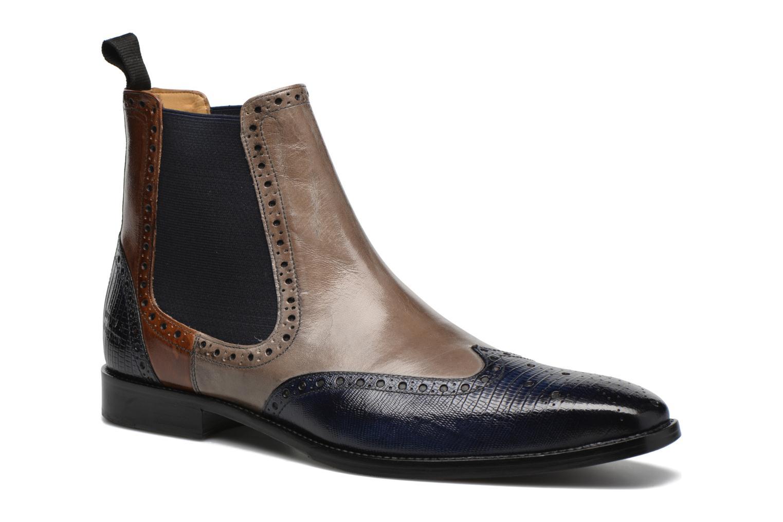 Melvin & Hamilton Martin 5 (Bleu) - Bottines et boots chez Sarenza (270988)