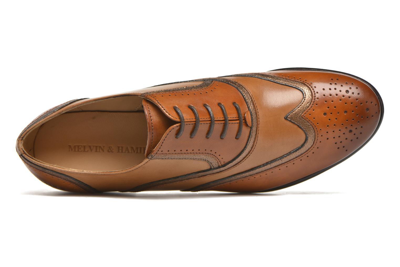 Chaussures à lacets Melvin & Hamilton Sally 38 Marron vue gauche