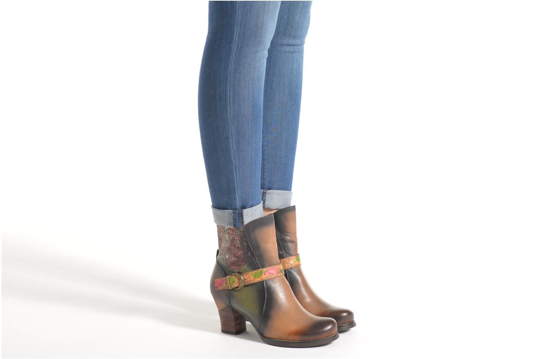 Bottines et boots Laura Vita Alena05 Multicolore vue bas / vue portée sac