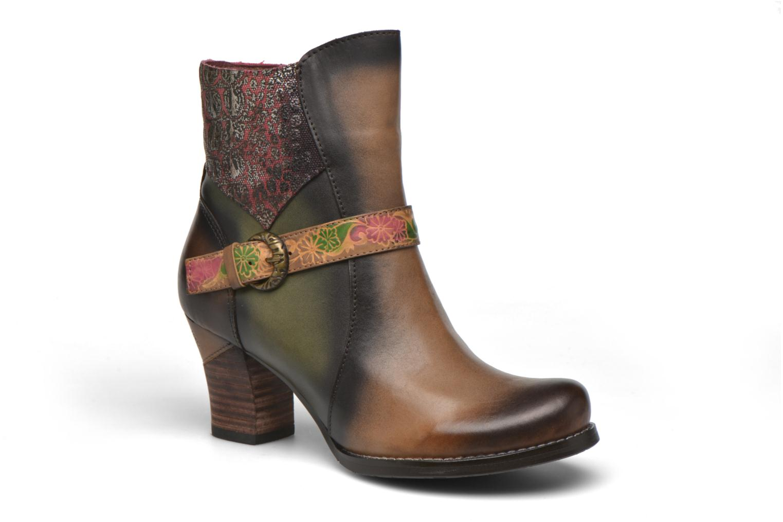 Bottines et boots Laura Vita Alena05 Multicolore vue détail/paire