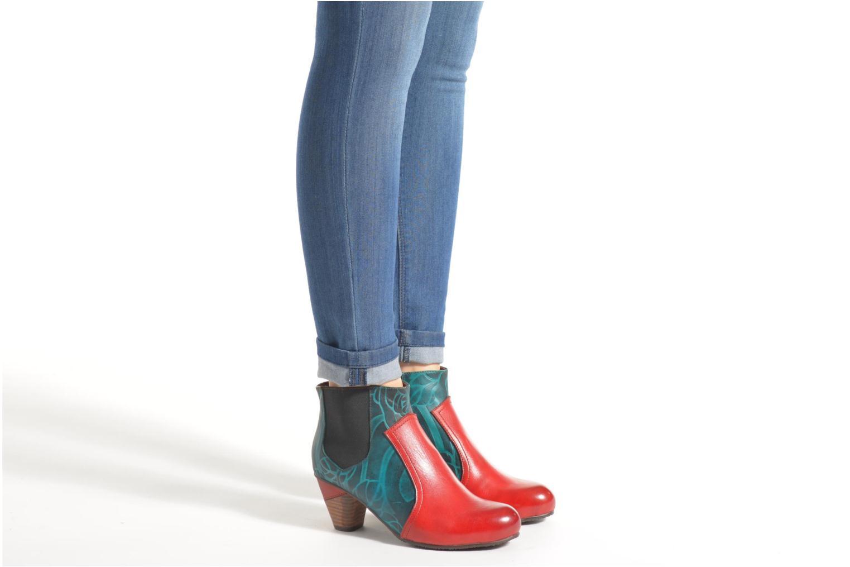 Bottines et boots Laura Vita Adriana25 Multicolore vue bas / vue portée sac