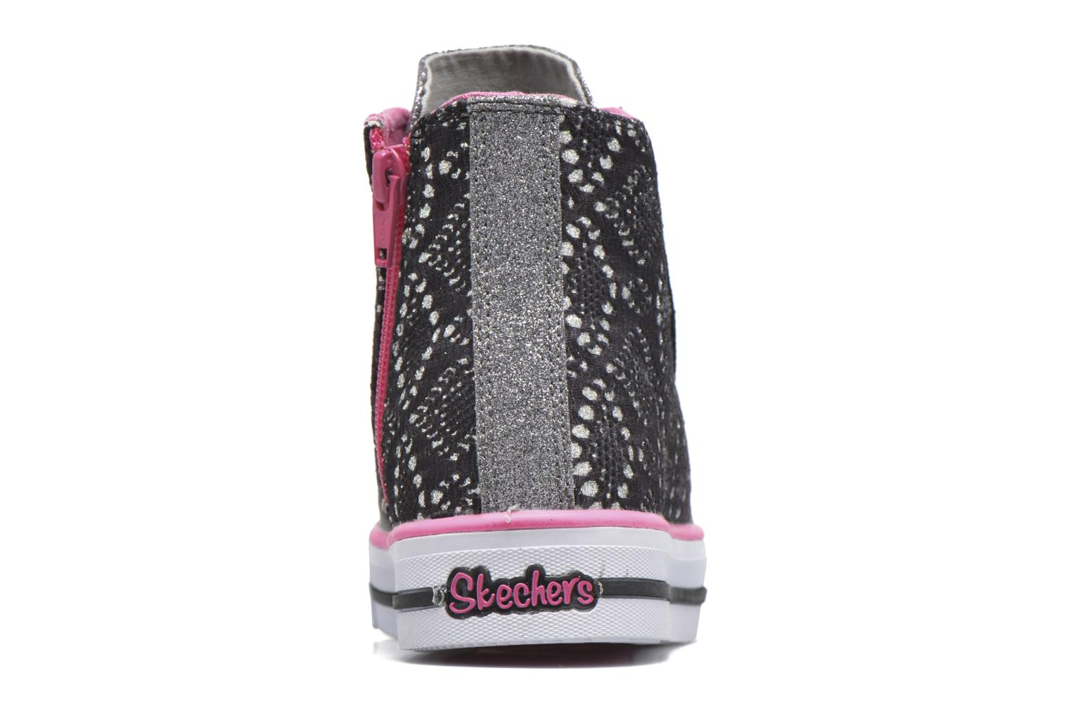 Trainers Skechers Shuffles Magic Madness Black view from the right