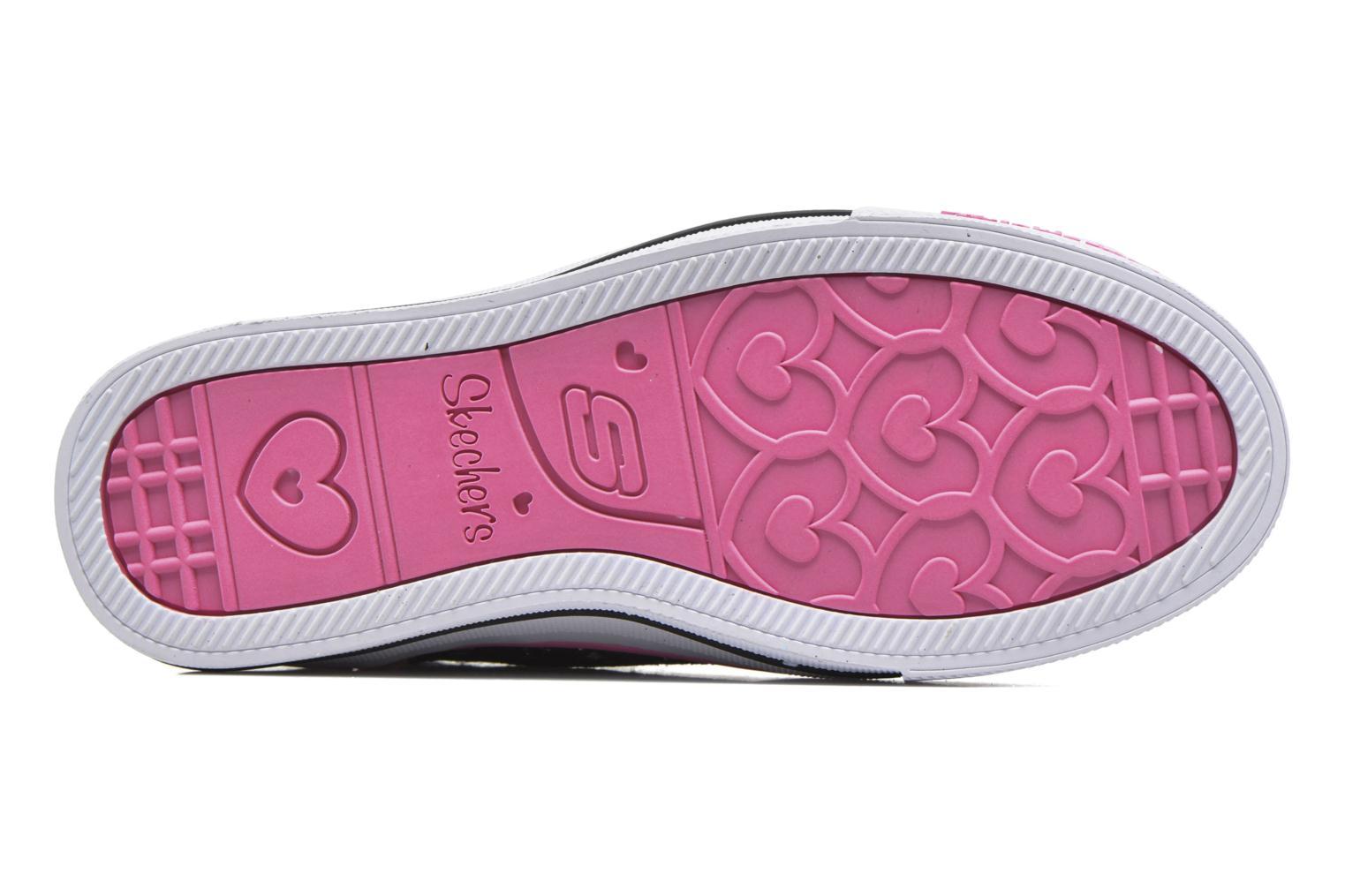 Trainers Skechers Shuffles Magic Madness Black view from above