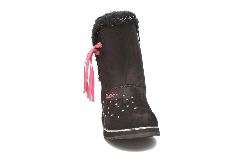 Stivali Skechers Sparkle Spell Nero modello indossato