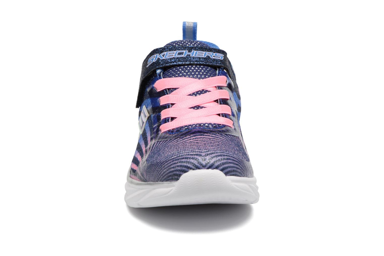 Sneaker Skechers Pepsters Colorbeam grau schuhe getragen