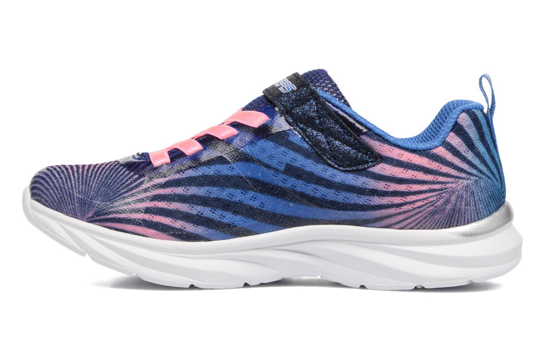 Sneaker Skechers Pepsters Colorbeam grau ansicht von vorne