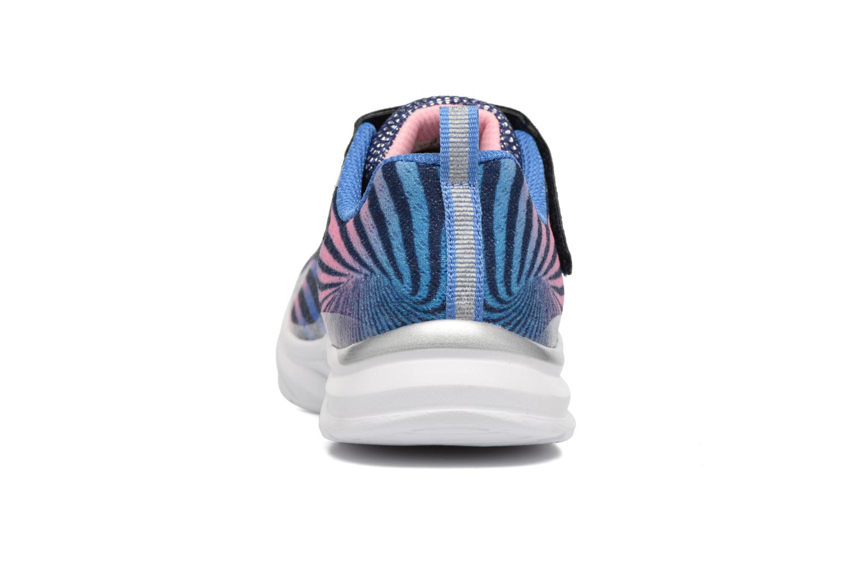 Sneaker Skechers Pepsters Colorbeam grau ansicht von rechts