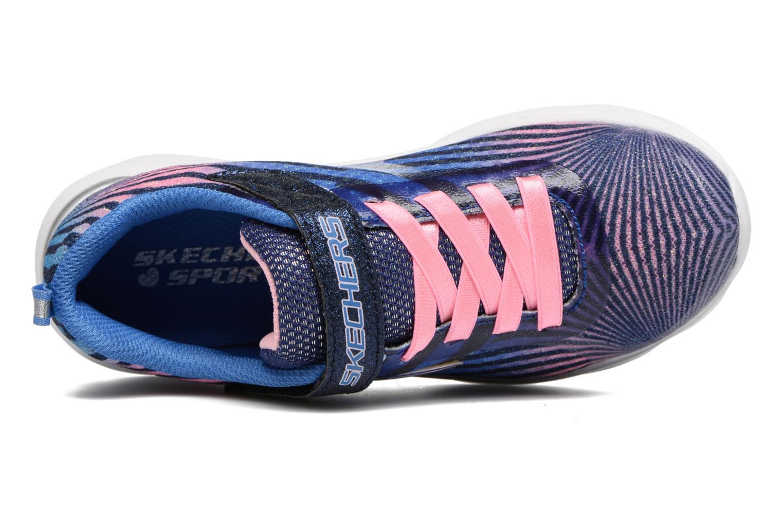 Sneaker Skechers Pepsters Colorbeam grau ansicht von links