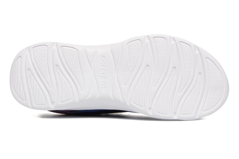 Sneaker Skechers Pepsters Colorbeam grau ansicht von oben