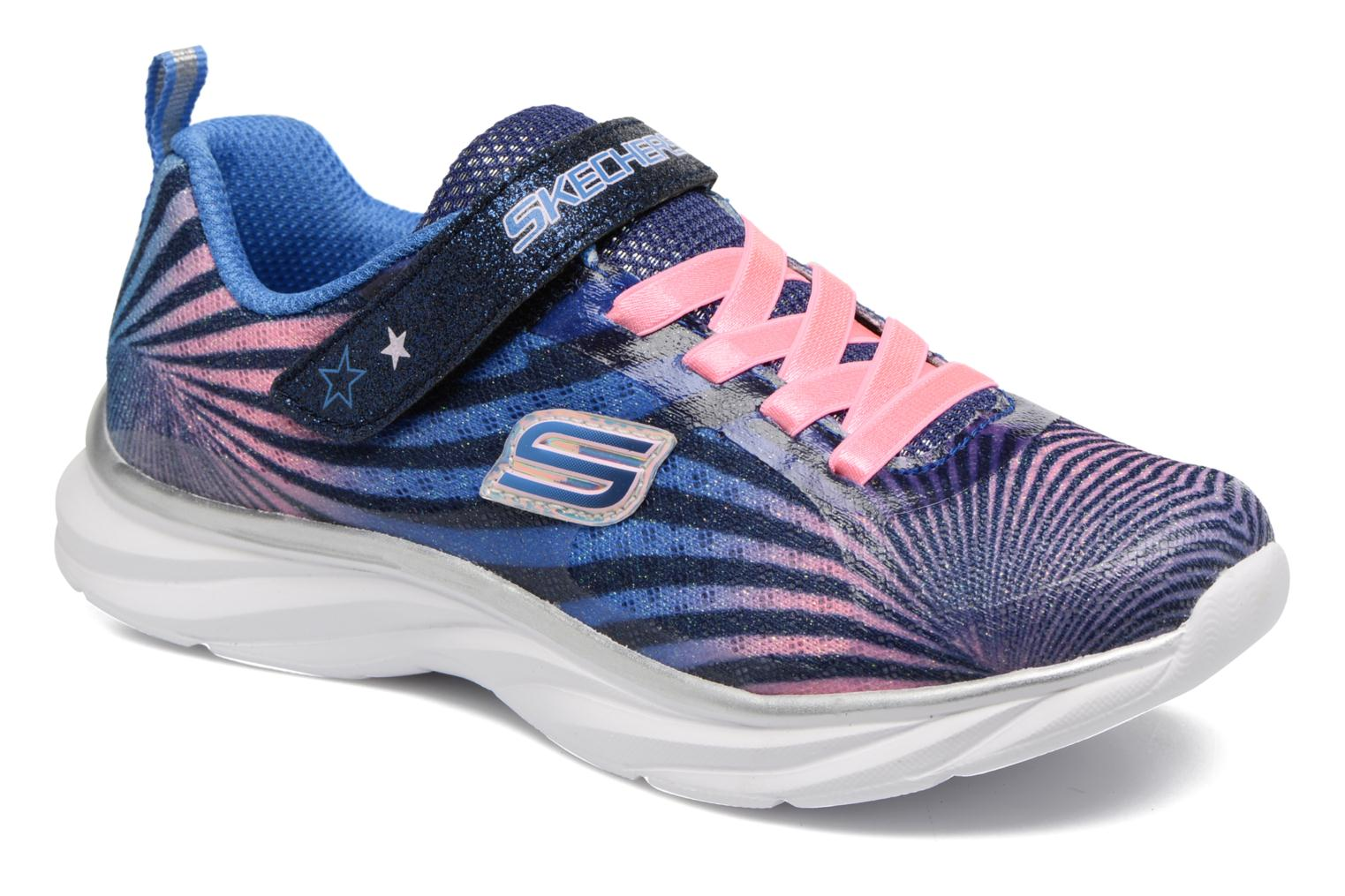 Trainers Skechers Pepsters Colorbeam Grey detailed view/ Pair view