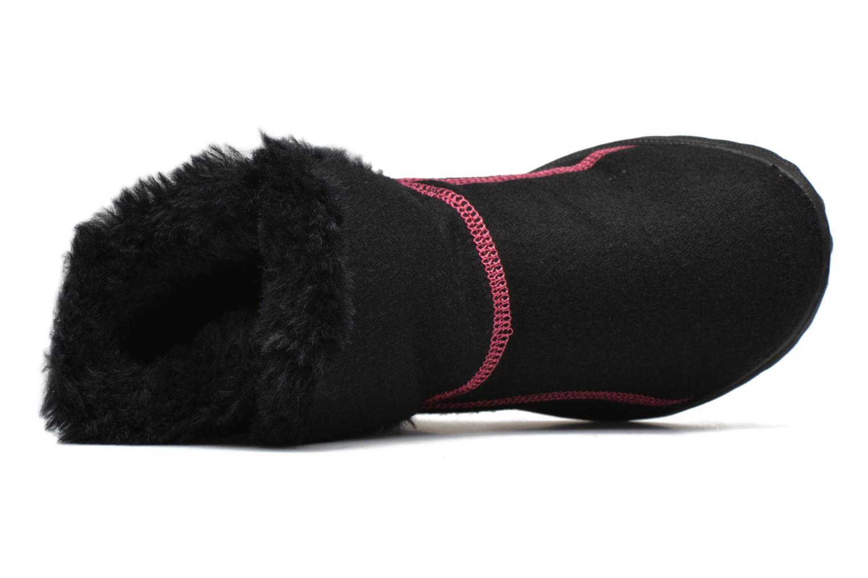 Bottines et boots Skechers Go Walk Artic Noir vue gauche