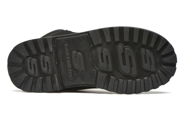 Stiefeletten & Boots Skechers Mecca Mitigate schwarz ansicht von oben