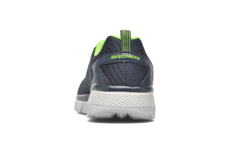 Sneaker Skechers Equalizer 2.0 Settle the Score blau ansicht von rechts