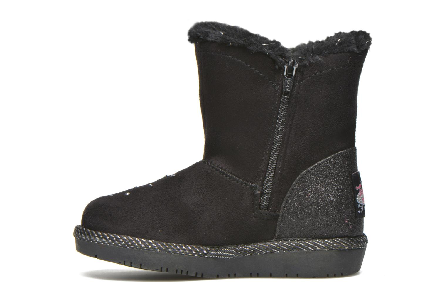 Boots & wellies Skechers Glamslam Black front view