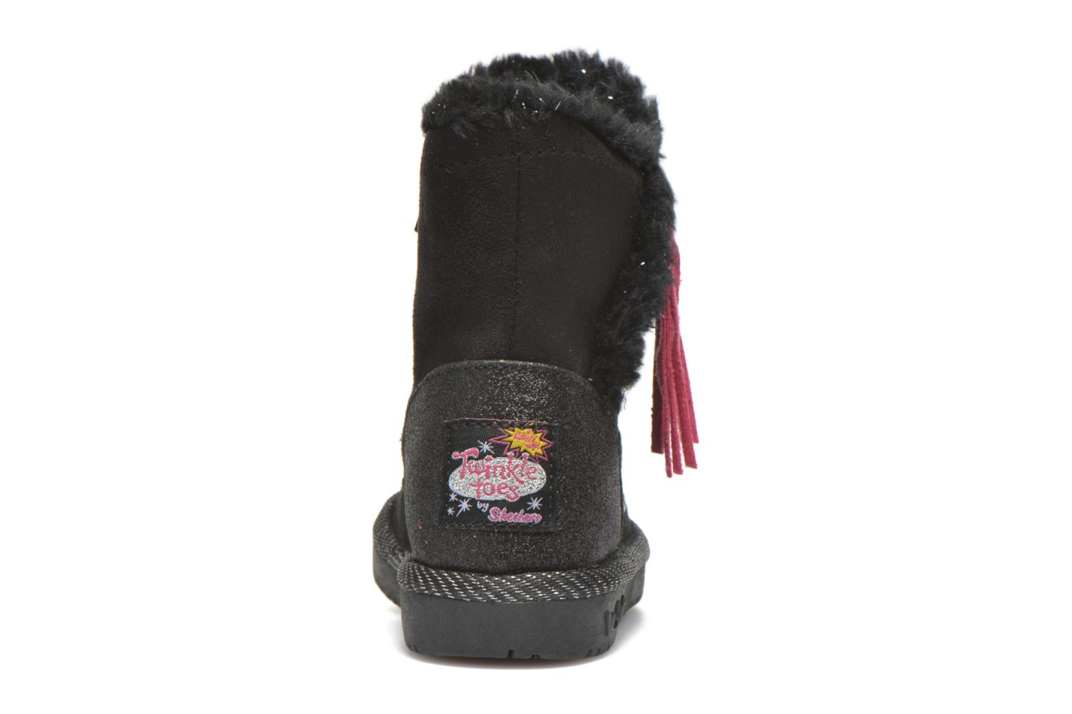 Boots & wellies Skechers Glamslam Black view from the right