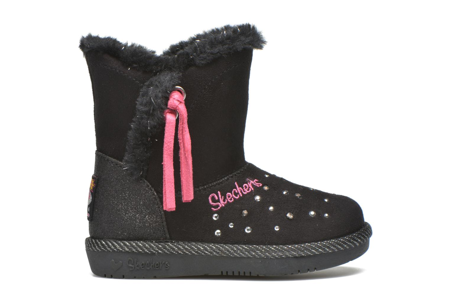 Boots & wellies Skechers Glamslam Black back view