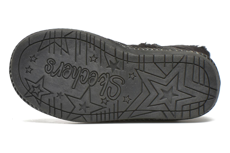 Botas Skechers Glamslam Negro vista de arriba