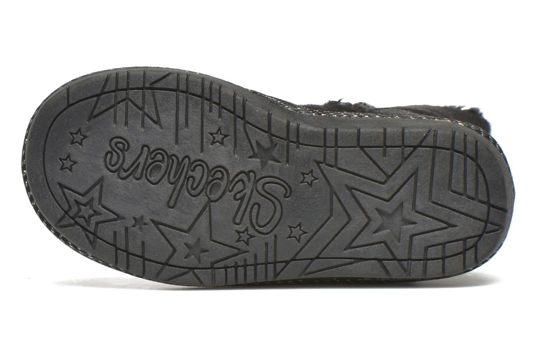 Stiefel Skechers Glamslam schwarz ansicht von oben