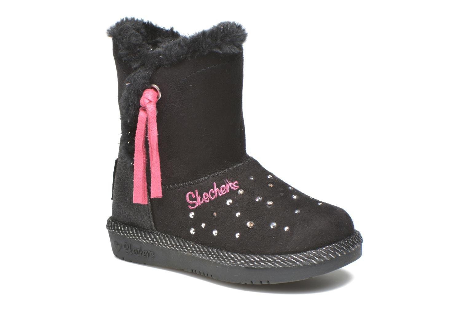 Boots & wellies Skechers Glamslam Black detailed view/ Pair view