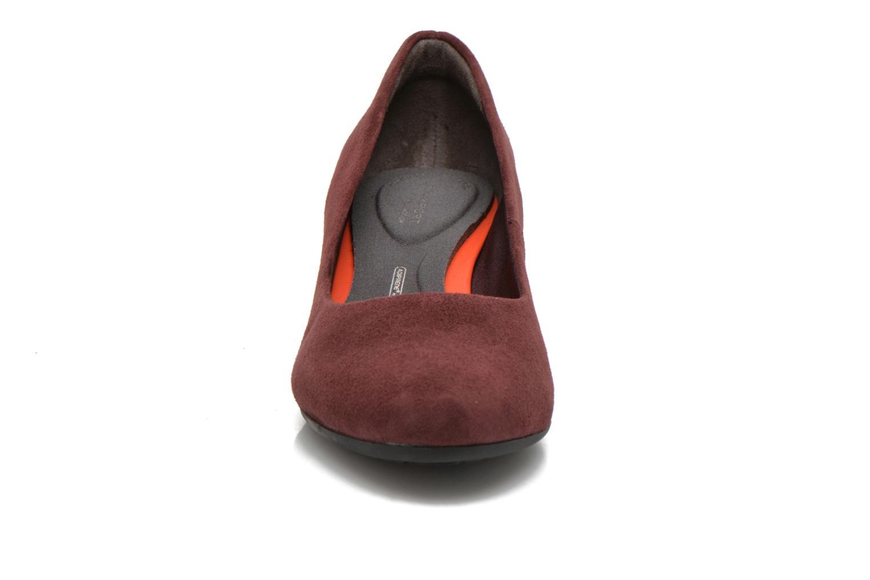 Escarpins Rockport TM45MW Plain Pump Bordeaux vue portées chaussures