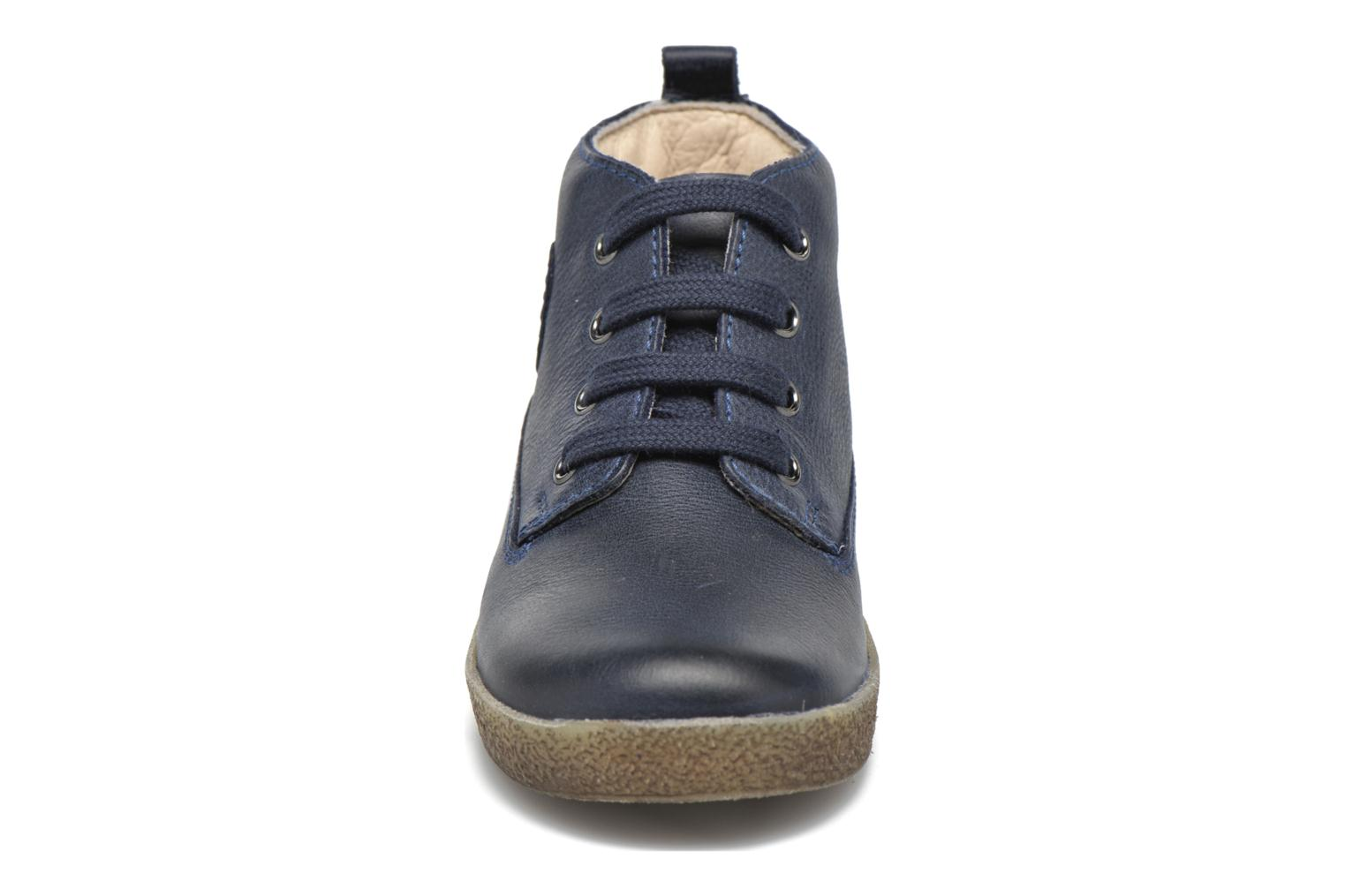 Lace-up shoes Naturino Falcotto 1196 Blue model view