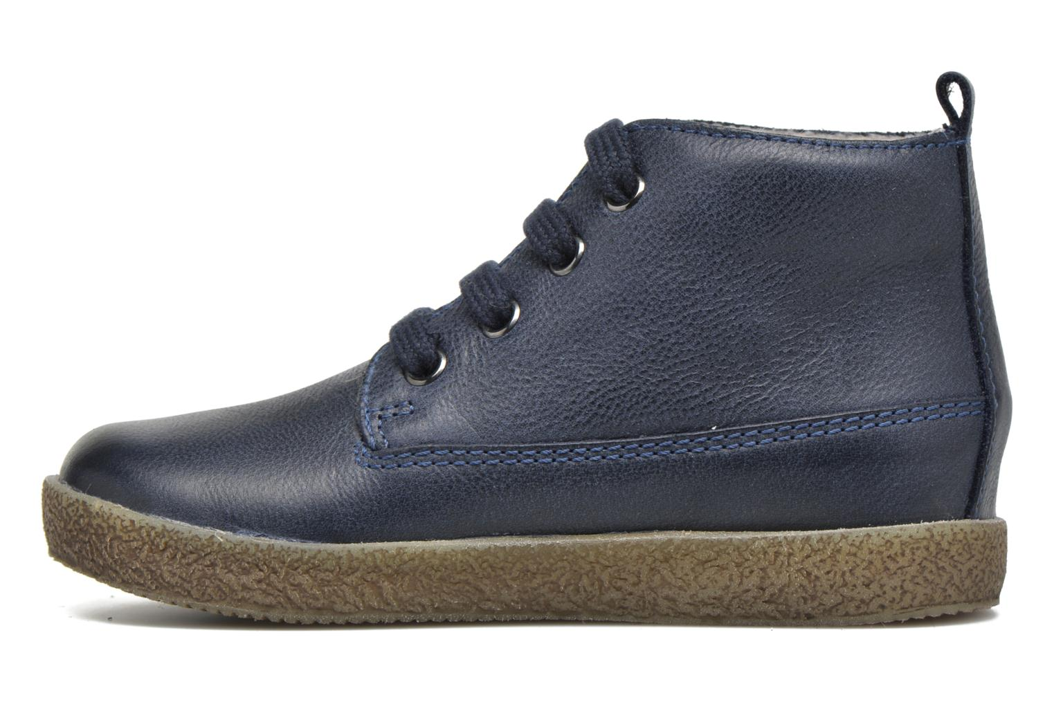 Lace-up shoes Naturino Falcotto 1196 Blue front view