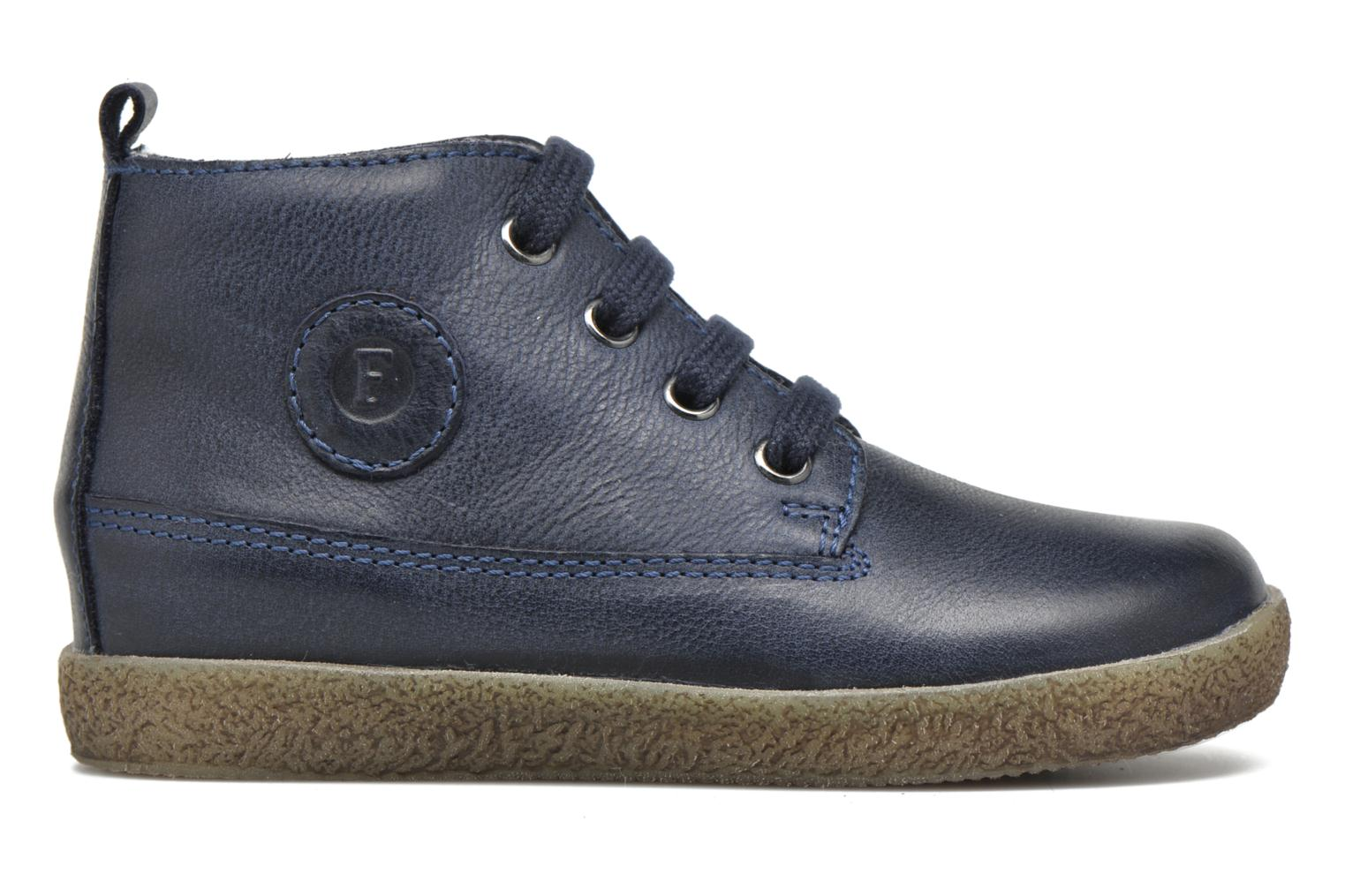 Lace-up shoes Naturino Falcotto 1196 Blue back view